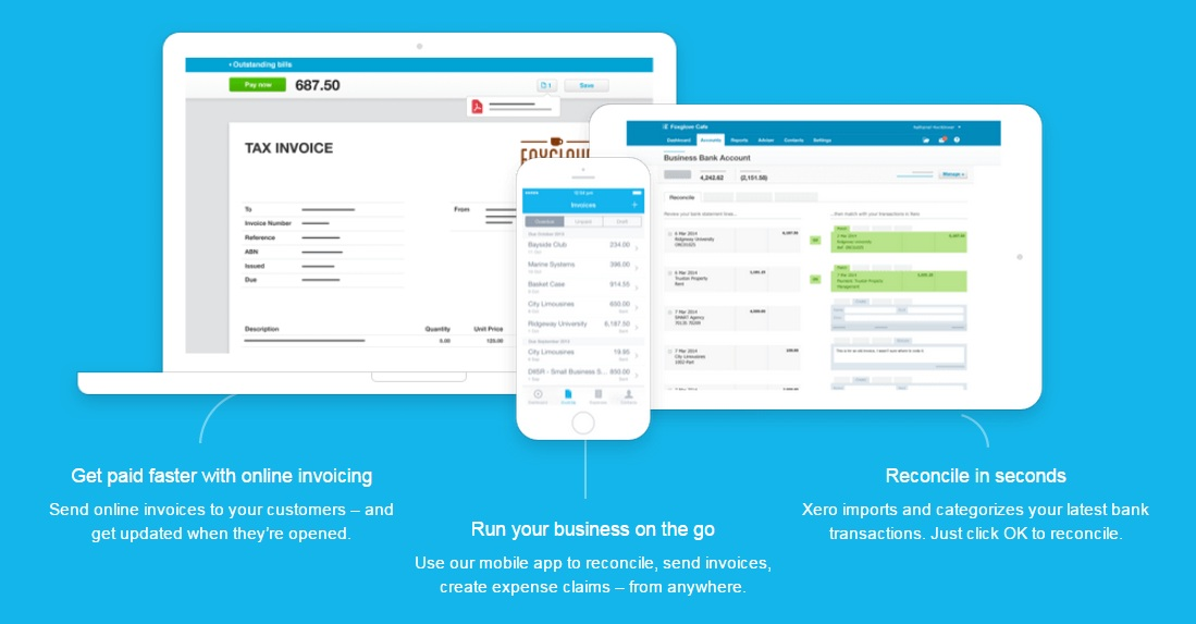 Xero at a Glance